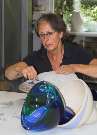 Mieke Pontier bij Galerie Korpershoek Nieuwleusen